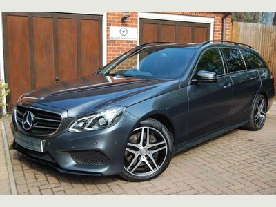 Mercedes-Benz E Class Estate 3.0 E350 CDI BlueTEC AMG Night Edition (Premium) 9G-Tronic Plus 5dr