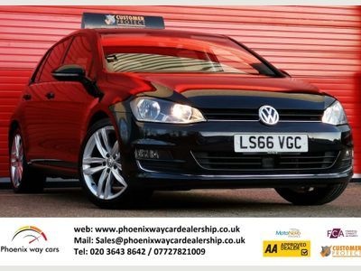 Volkswagen Golf Hatchback 1.6 TDI BlueMotion Tech GT Edition DSG (s/s) 5dr