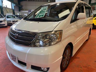 Toyota Alphard MPV 3.0 V6 GAS CONVERTED 7 SEATER AUTO 4X4