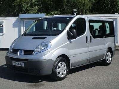 Renault Trafic Other 2.0 dCi SL27 Phase 3 Mini Bus 4dr (9 Seats, EU5)
