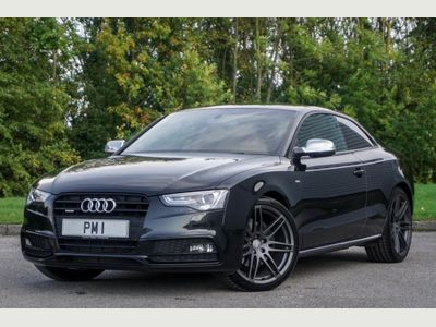 AUDI A5 Coupe 2.0 TFSI Black Edition Coupe 2dr Petrol Manual quattro (159 g/km, 208 bhp)