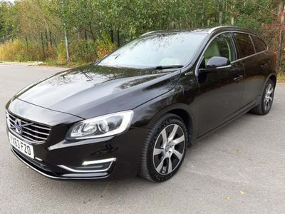Volvo V60 Estate 2.4 D6 Geartronic AWD (s/s) 5dr