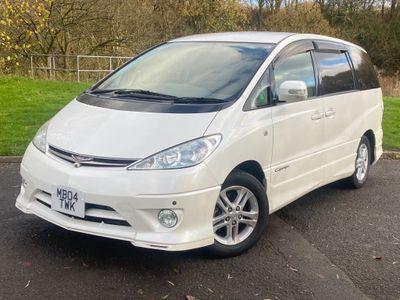 Toyota Estima MPV 2.4 vvti auto Aeras Edition 8 seats 2018