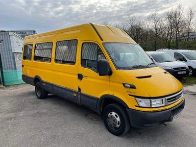 Iveco Daily Minibus 50C14 MINIBUS/COACH 17 SEATER 3.0 134BHP