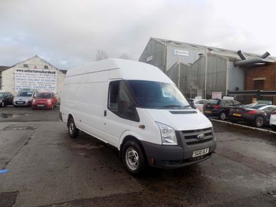 Ford Transit Panel Van 2.4 TDCi 350 Jumbo High Roof Van EL 5dr (SRW, LWB)