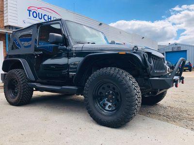Jeep Wrangler Convertible 2.8 CRD Sahara Soft top 4x4 2dr