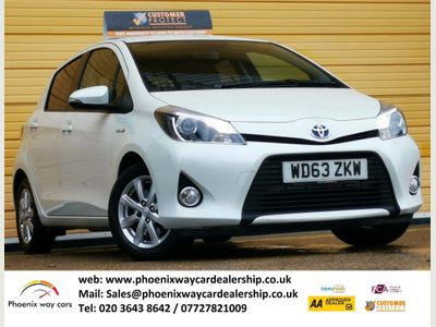 Toyota Yaris Hatchback 1.5 VVT-h Icon+ 5dr
