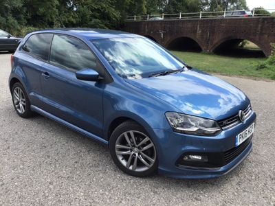 Volkswagen Polo Hatchback 1.4 TDI BlueMotion Tech R Line (s/s) 3dr