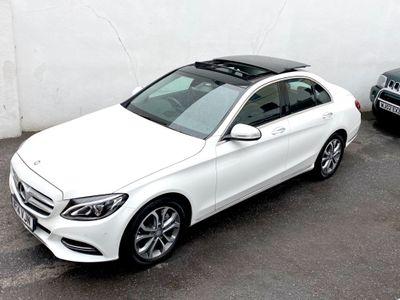 Mercedes-Benz C Class Saloon 2.0 C200 Sport (Premium) G-Tronic+ (s/s) 4dr