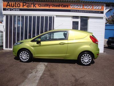 Ford Fiesta Car Derived Van 1.6 TDCI Base Panel Van 3dr