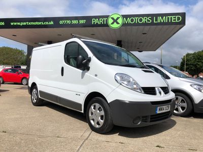 Renault Trafic Panel Van 2.0 dCi 27 Extra SWB Standard Roof 4dr