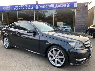 Mercedes-Benz C Class Coupe 1.8 C250 BlueEFFICIENCY AMG Sport 7G-Tronic Plus 2dr (COMAND)