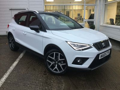 SEAT Arona SUV 1.6 TDI XCELLENCE Lux DSG (s/s) 5dr
