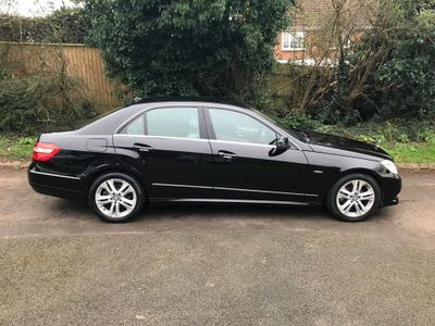 Mercedes-Benz E Class Saloon 2.1 E200 CDI BlueEFFICIENCY Avantgarde 4dr
