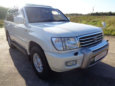 TOYOTA LAND CRUISER AMAZON SUV Active Vacation Factory Camper Ed 4.7 V8