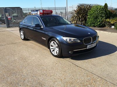 BMW 7 Series Saloon BMW 7 SERIES 3.0 740LI LWB SALOON 4DR
