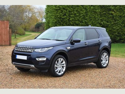 Land Rover Discovery Sport SUV 2.0 SD4 HSE Luxury Auto 4WD (s/s) 5dr