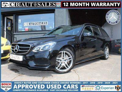 Mercedes-Benz E Class Estate 3.0 E350 CDI BlueTEC AMG Night Edition (Premium Plus) 9G-Tronic Plus 5dr