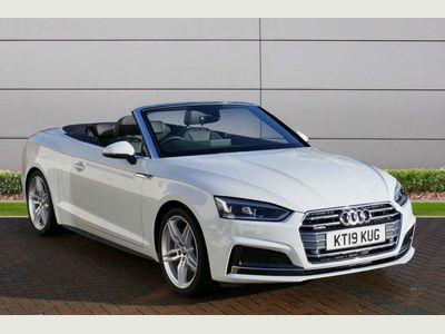 Audi A5 Cabriolet Convertible 2.0 TDI 40 S line Cabriolet S Tronic quattro (s/s) 2dr