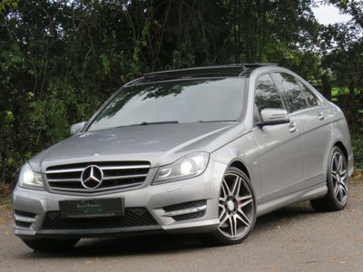 Mercedes-Benz C Class Saloon 3.0 C350 CDI BlueEFFICIENCY AMG Sport Plus 7G-Tronic Plus 4dr (Map Pilot)