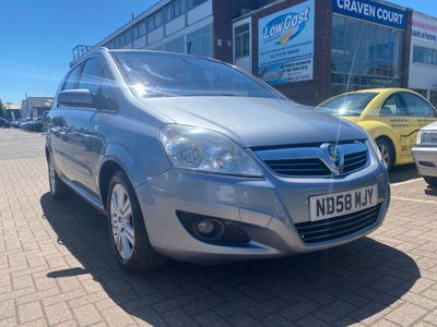 Vauxhall Zafira MPV 1.8 i 16v Elite 5dr