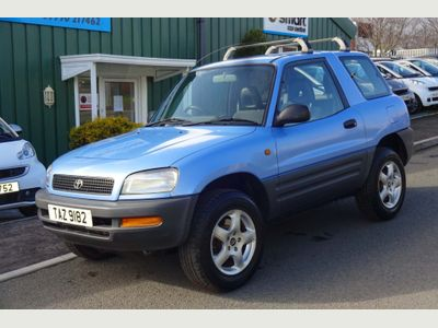 Toyota RAV4 SUV 2.0 Stax Limited Edition 4WD 3dr