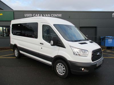 Ford Transit Minibus 410 15 SEAT TREND FRT & RR AIRCON EURO 6