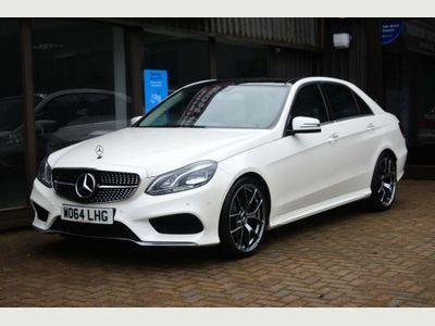 Mercedes-Benz E Class Saloon 2.1 E300dh BlueTEC AMG Line (Premium Plus) 7G-Tronic Plus 4dr