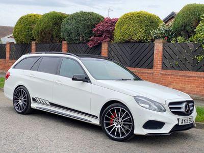 Mercedes-Benz E Class Estate 3.0 E350 CDI BlueTEC AMG Line (Premium) 9G-Tronic Plus 5dr