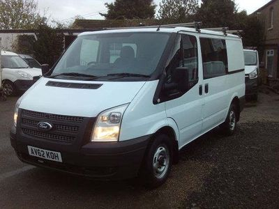 Ford Transit Other 2.2 TDCi 260 S Low Roof Double Cab-in-Van 5dr (EU5, SWB)
