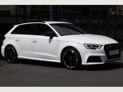 Audi S3 Hatchback 2.0 TFSI Black Edition Sportback S Tronic quattro (s/s) 5dr
