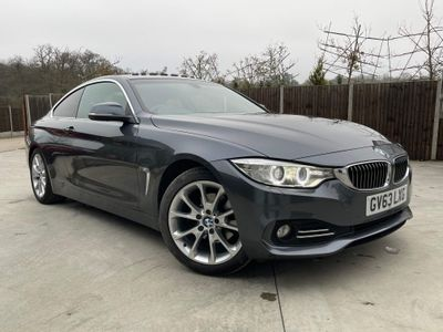 BMW 4 Series Coupe 2.0 420d Luxury Auto 2dr