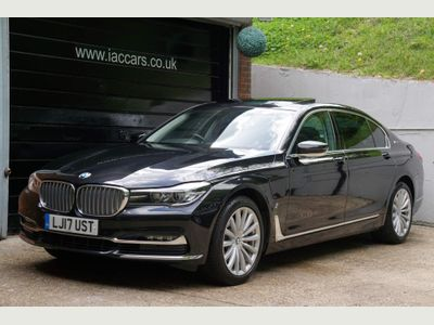 BMW 7 Series Saloon 2.0 740Le 9.2kWh Exclusive Auto xDrive (s/s) 4dr