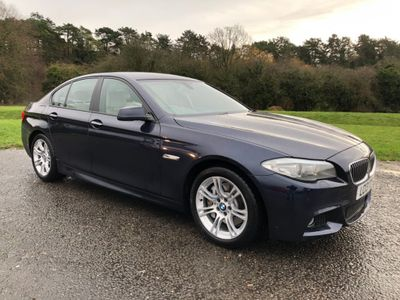 BMW 5 Series Saloon 2.0 525d M Sport 4dr