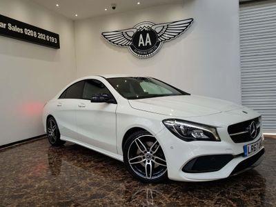 Mercedes-Benz CLA Class Coupe 2.1 CLA220d AMG Line 7G-DCT (s/s) 4dr