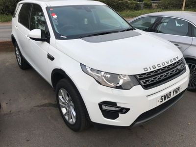 Land Rover Discovery Sport SUV 2.0 eD4 SE Tech (s/s) 5dr
