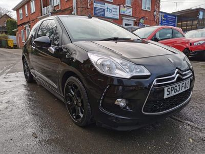 Citroen DS3 Cabrio Convertible 1.6 DStyle Plus 2dr