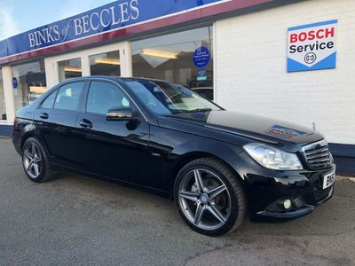Mercedes-Benz C Class Saloon 2.1 C200 CDI BlueEFFICIENCY SE Edition 125 7G-Tronic 4dr