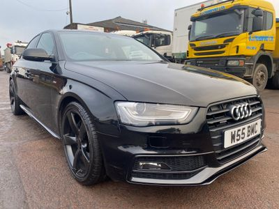 Audi A4 Saloon 2.0 TFSI Black Edition S Tronic quattro 4dr