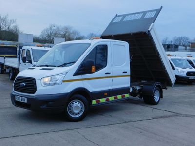 Ford Transit Tipper 2.2TDCI 125PS L3 H1 DOUBLE CAB TIPPER