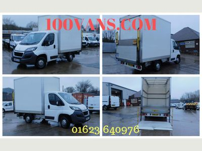 Peugeot Boxer Luton 2.0 BLUE HDI 130PS LUTON & TAIL LIFT