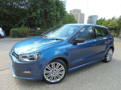 Volkswagen Polo Hatchback 1.4 TSI BlueMotion Tech ACT BlueGT DSG (s/s) 5dr