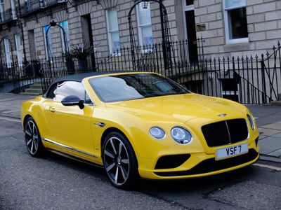 Bentley Continental Convertible 4.0 GTC V8 S Auto 4WD 2dr (EU5)