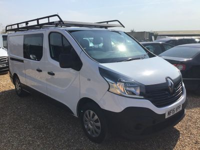 Renault Trafic Other 1.6 dCi 29 Business Crew Van 5dr