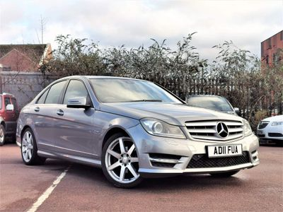 Mercedes-Benz C Class Saloon 2.1 C200 CDI BlueEFFICIENCY Sport 7G-Tronic 4dr