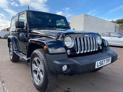 Jeep Wrangler SUV 2.8 CRD Overland Auto 4WD 2dr