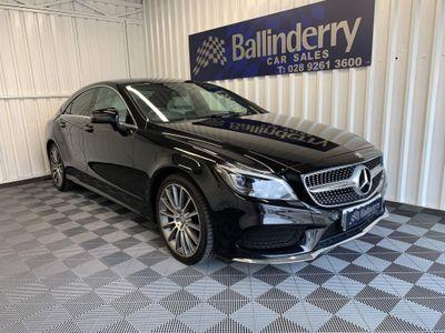 Mercedes-Benz CLS Coupe 2.1 CLS220d AMG Line (Premium) G-Tronic+ (s/s) 4dr