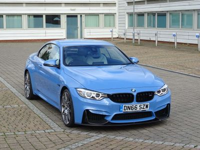 BMW M4 Convertible 3.0 (Competition Pack) M DCT 2dr
