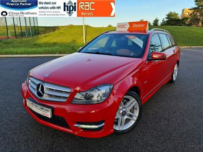 Mercedes-Benz C Class Estate 1.8 C250 BlueEFFICIENCY Sport G-Tronic 5dr