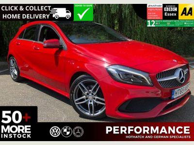 Mercedes-Benz A Class Hatchback 1.5 A180d AMG Line (Premium Plus) (s/s) 5dr